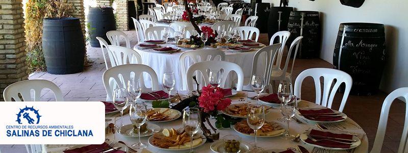 Celebración de bodas chiclana en Salinas de Chiclana.